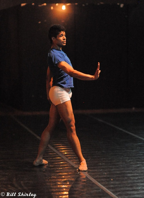 Alan Obuzor from Texture Contemporary Ballet.