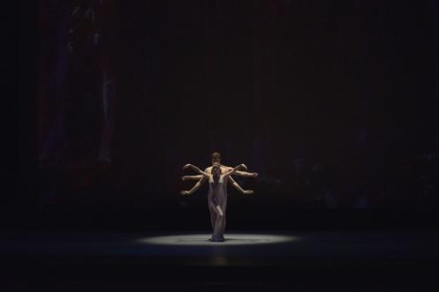 """Tom Gold Dance in Tom Gold's """"La Plage"""". Photo: Eugene Gologursky"""