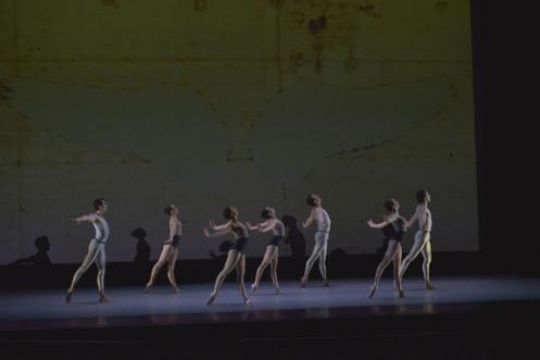 "Tom Gold Dance in Tom Gold's ""Urban Angel"". Photo: Eugene Gologursky"