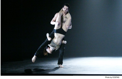 "Martha Graham Dance Company's Lorenzo Pagano & Ying Xin in Nacho Duato's Depak Ine"" Photo: Costas"