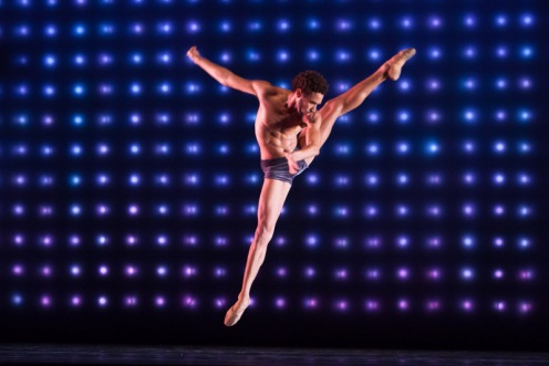 "Michael Montgomery in Alonzo King's ""Constellation"". Photo by Margo Moritz."