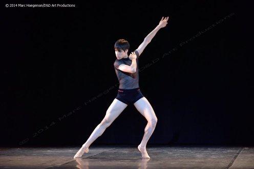 "Cesar Corrales performing Kaloyan Boyadjiev's ""Reenter"" at the 2014Youth American Grand Prix"