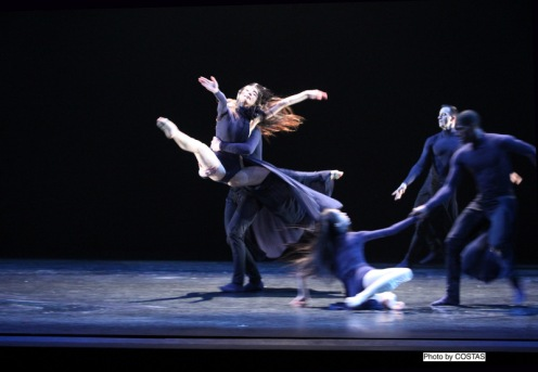 "Martha Graham Dance Company in Andonis Foniadakis's ""Echo""."