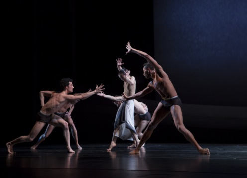 "Martha Graham Dance Company's in Martha Graham's ""The Rite of Spring"" Photo: Sinru Ku"