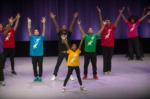 The National Dance Institute for the 4th Annual Dance Against Cancer. Photo: Christopher Duggan