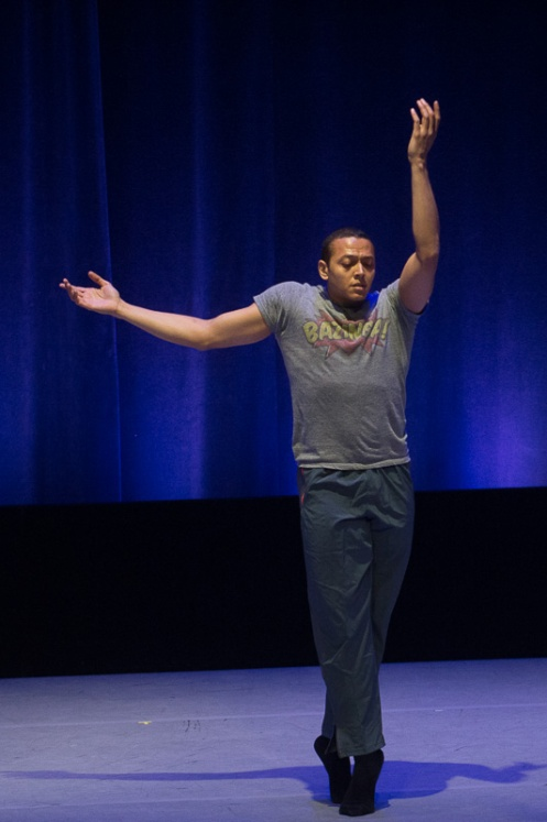 Clifton Brown in Fredrick Earl Mosley's 'Dedications (Except)' for the 4th Annual Dance Against Cancer. Photo: Christopher Duggan