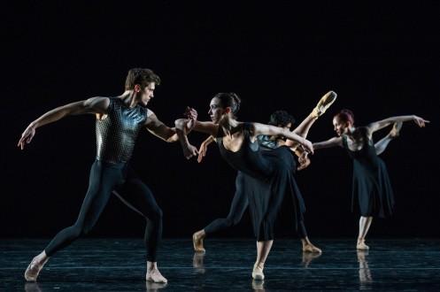"Cincinnati Ballet in Val Caniparoli's ""Caprice"". Photo: Amy Harris"