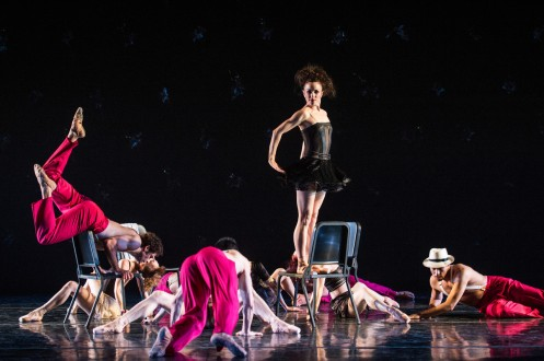 "Cincinnati Ballet in Val Caniparoli's ""Caprice"". Photo: Amy Harris"