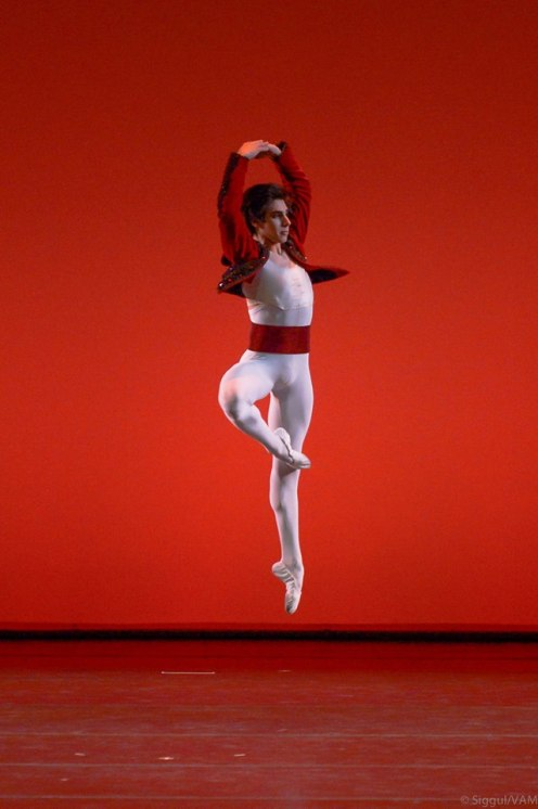 2014 YAGP Grand Prix winner Cesar Corrales, age 17, in Variation from Don Quixote. Photo by Siggul/VAM.