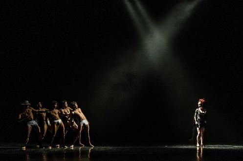 "Cincinnati Ballet in Trey McIntyre's ""Chasing Squirrel"". Photo: Amy Harris"