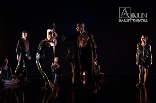 Leonard Ajkun's 'Revolution' & the Akjun Ballet at MMAC. Photo: Rachel Neville