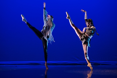 Morgan C Stinnett & Brittany Larrimer in Leonard Ajkun's 'Revolution' at MMAC. Photo: Rachel Neville