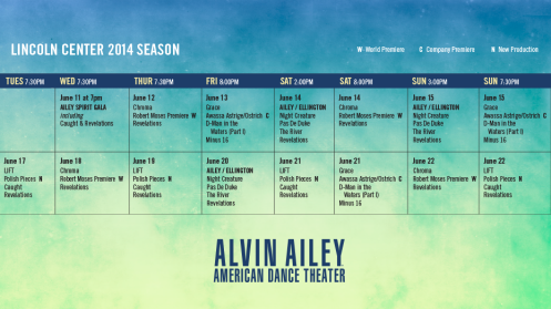 Ailey Schedule