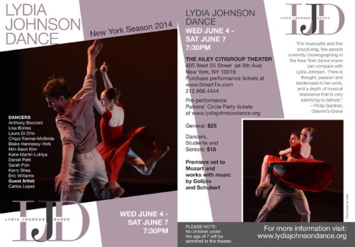 Lydia Johnson Dance