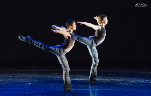 Jeffrey Cirio and Isaac Akiba ©LizaVollPhotography