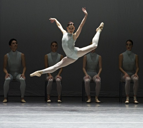 Kathleen Breen Combes in Forsythe's The Second Detail