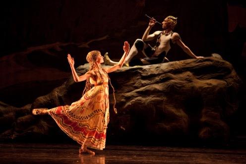 Boston Ballet's in Vaslav Nijinsky's Afternoon of a Faun. Photo: Rosalie O'Connor