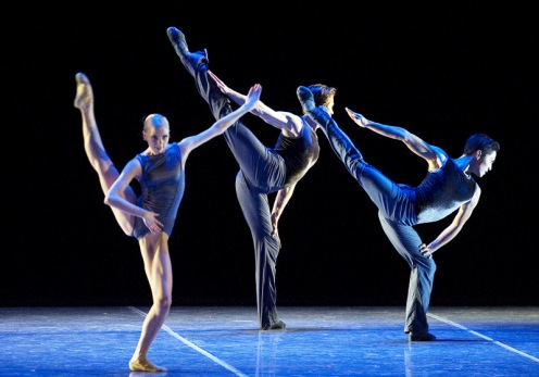 Whitney Jensen, Jeffrey Cirio and Bo Busby in Jorma Elo's Plan to B by Gene Schiavone
