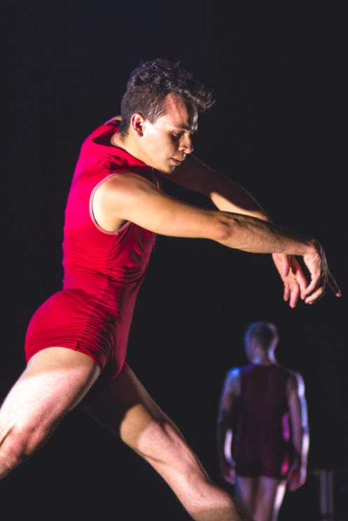"""Spectrum Dance Theater's Alex Crozier in Donald Byrd's """"Septet"""". Photo: Ethan Wu"""