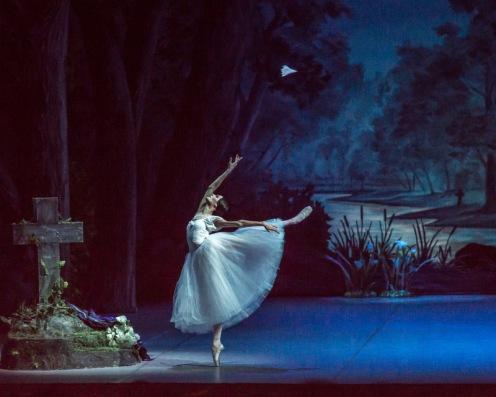 The Mikhailovsky Ballet's Angelina Vorontsova in Giselle, ou Les Wilis. Photo: Nikolay Krusser