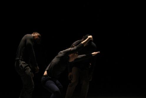 "Mettin Movement in Sarah Mettin's ""Allegory : Aeon."" Photo: Brenda Perez"