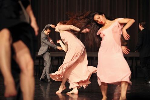 Tanztheater Wuppertal Pina Bausch in Kontakthof: A piece by Pina Bausch. Photo: Julieta Cevantes
