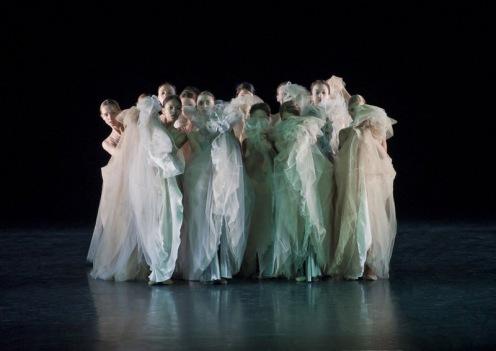 The Mikhailovsky Ballet in Nacho Duato's Prelude. Photo: Nikolay Krusser