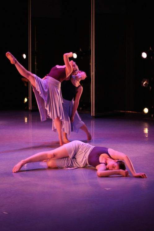 "SynthesisDANCE performing Tracie Stanfield's ""She: For where she has been has led us here."" Photo: Brenda Perez"