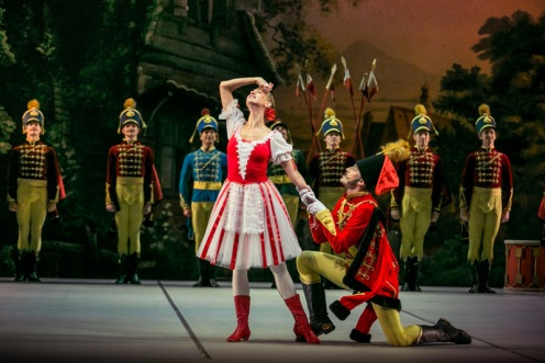 The Mikhailovsky Ballet in Petipa's Le Halte de Cavalerie. Photo: Stas Levshin