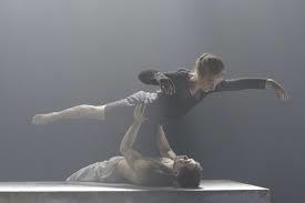 "Zenaida Yanowsky & Tommy Franzen in ""Leda and the Swan"""