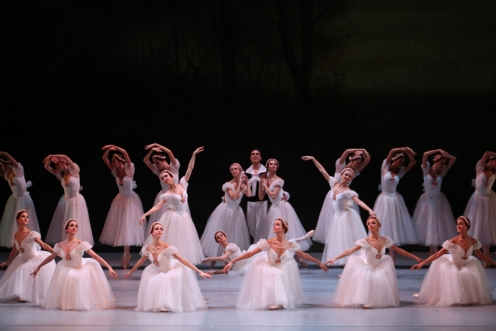 "The Mariinsky Ballet in Michel Fokine's ""Chopiniana""  at the BAM Howard Gilman Opera House. Photo: Julieta Cervantes"