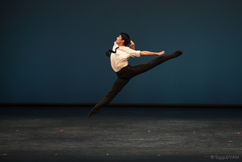 YAGP first place winner in the Senior Men's Division performed Shogo Hayami performing Mikis Theodorakis' Solo for Diego. Photo: VAG