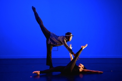 The Victory Dance Project's Christopher Jackson & Karen Niceley. Photo by Cherylynn Tsushima
