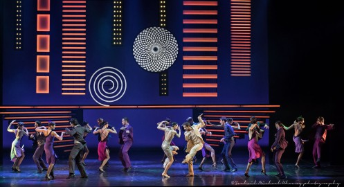 """The Eifman Ballet of St. Petersburg in Boris Eifman's """"Up and Down."""" Photo by Michael Khoury"""