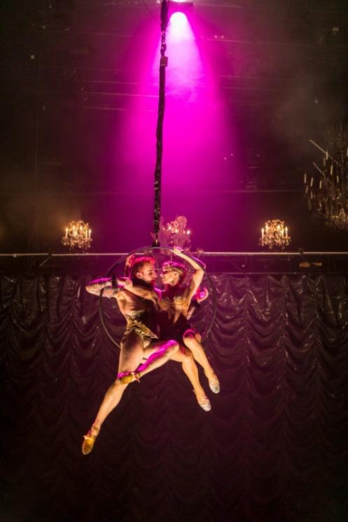 "Company XIV's Steven Trumon Gray & Allison Ulrich in Austin McCormick's ""Cinderella."" Photo: Philip Van Norstand"
