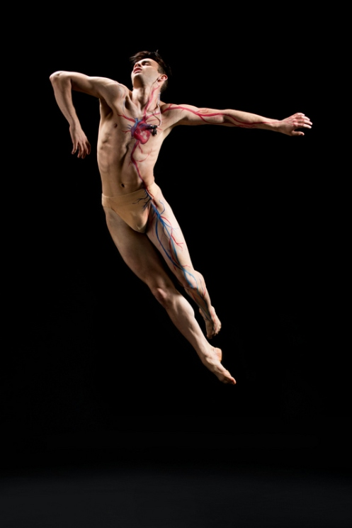 Samuel Kunzman from Eryc Taylor Dance. Photo: Rachel Neville