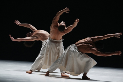 "Fall for Dance FestivalLa Compagnie Hervé Koubi""What the Day Owes to the Night""Choreography by Hervé KoubiNew York City CenterOctober 2, 2015Photo Credit: Julieta Cervantes"