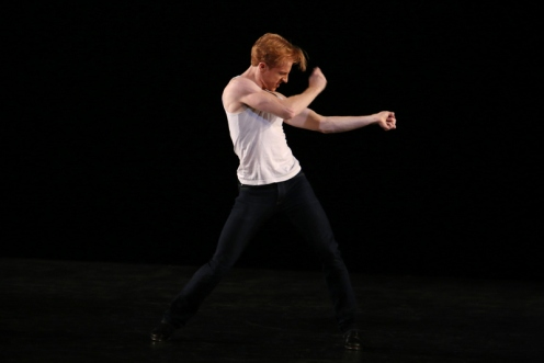 "Steven McRae's ""Czardas"" during the 12th Annual Fall for Dance Festival. Photo Julieta Cervantes"