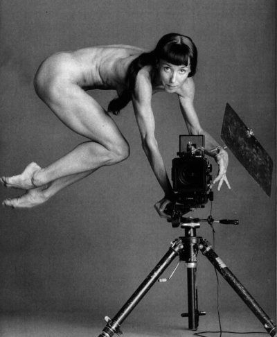 Sylvie Guillem from French Vogue 1981