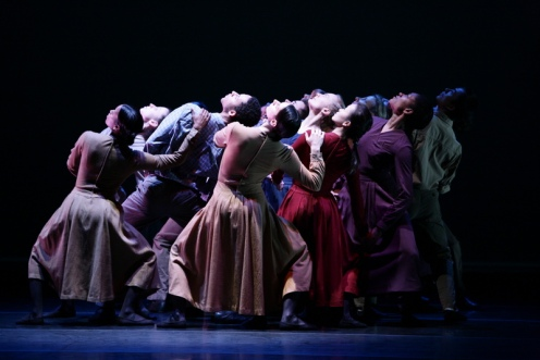 "José Limón Dance Company with Guest Dancers in José Limón's 1958 work ""Missa Brevis"" Photo: Scott Groeller"