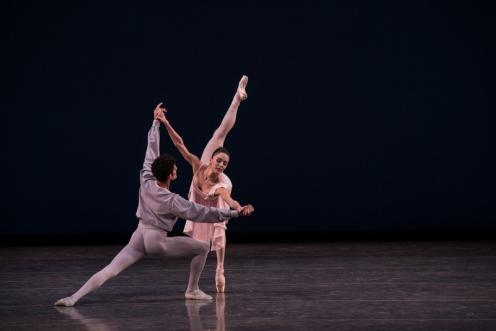 "Miami City Ballet's Patricia Delgado & Renan Cerdeiro in ""Allegro Brillante"" Choreography by George Balanchine © The George Balanchine Trust Photo © Daniel Azoulay"