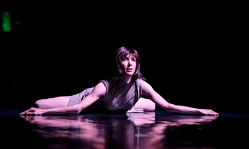 "Sylvie Guillem performs ""Techné"" in Life in Progress Photo: Bill Cooper"
