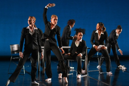 Ballet Memphis dancers and local jookers in Rafael Ferreras' 'Politics.' Photo: ©Ari Denison