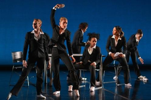 Ballet Memphis dancers and local jookers in Rafael Ferreras' 'Politics.' Photo: ©Ari Denison
