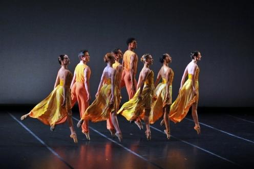 Ballet Memphis in Steven McMahon's 'Confluence'. Photo: © Andrea Zucker