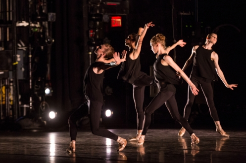 "BalletCollective in Troy Schumacher's ""Invisible Divide"" Photo: Matthew Murphy"