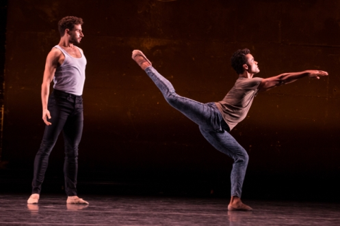 "BalletCollective's David Prottas & Taylor Stanley in Troy Schumacher's ""The Last Time This Ended,"" Photo: Matthew Murphy"