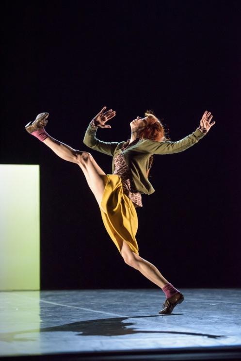 "Sylvie Guillem in Mats Ek's ""Bye."" Photo: Bill Cooper"