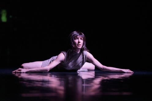"""Sylvie Guillem in Akram Khan's """"technê."""" Photo: Bill Cooper"""
