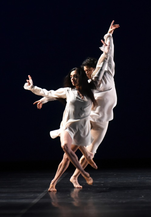 "Alessandra Ferri & Herman Cornejo in ""TRIO ConcertDance"". Photo :Roberto Ricci"